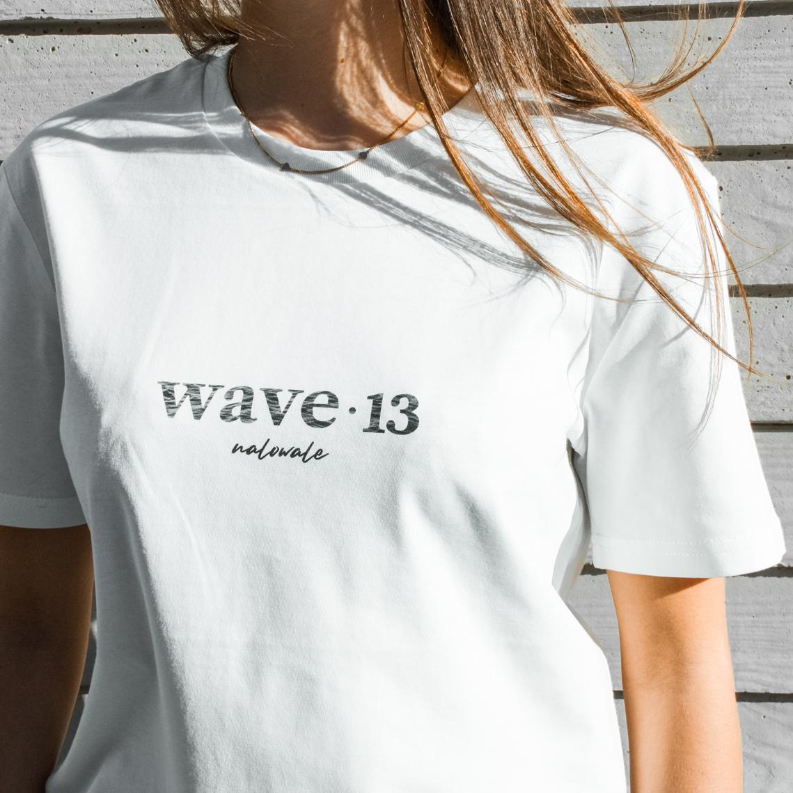 Wave Thirteen Nalowale Tee White Women