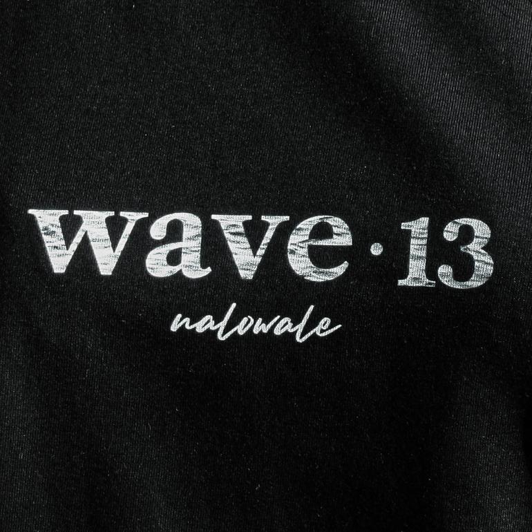 Wave Thirteen Nalowale Tee Black Detail
