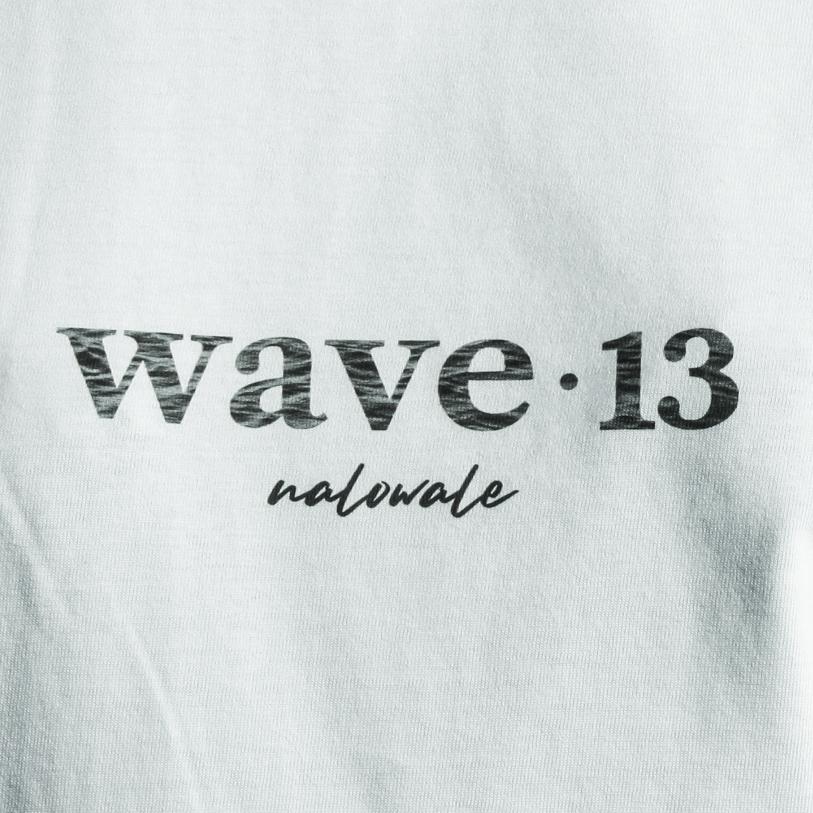 Wave Thirteen Nalowale Tee White Detail